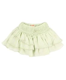 Hugsntugs Satin Skirt - Green