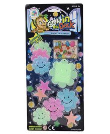 Smiles Creation Lighting Star Glow In The Dark Stickers - Multicolor