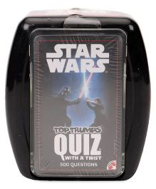 Top Trumps Star Wars Quiz With A Twist Game - 300 Cards