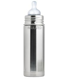 Pura Natural Vacuum Insulated Infant Feeding Bottle - 266 ml