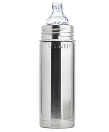 Pura Kiki Natural Vacuum Insulated Feeding Bottle - 265 ml