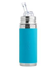 Pura Straw Vaccum Insulated Bottle - 265 ml
