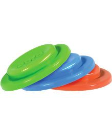 Pura Kiki Silicone Sealing Disks Pack of 3 - Green Orange Blue