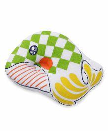 Baby Pillow Fish  Print - Green White