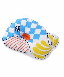 Baby Pillow Fish  Print - Blue White