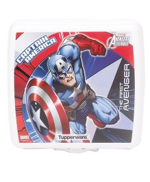 Tupperware Captain America Sandwich Keeper - White