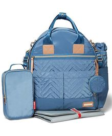 Skip Hop 6-in-1 Diaper Bag - Dusk Blue