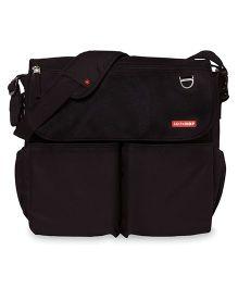 Skip Hop Dash Signature Messenger Diaper Bag - Black