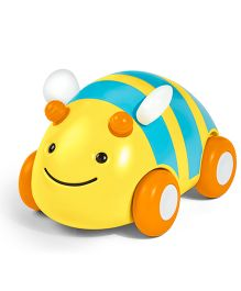 Skip Hop Explore & More Pull & Go Car Bee Shape - Yellow