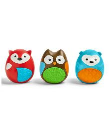 Skip Hop Explore And More Musical Egg Shaker Trio - Multicolor