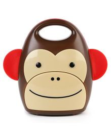Skip Hop Zoo Take Along Nightlight Marshall Monkey - Brown