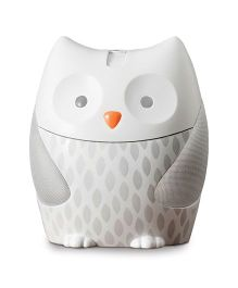 Skip Hop Moonlight and Melodies Nightlight Soother Owl Design - Grey White