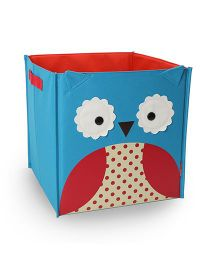 Skip Hop Zoo Large Storage Bin Otis Owl - Blue