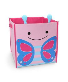 Skip Hop Zoo Large Storage Bin Blossom Butterfly - Pink