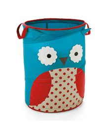 Skip Hop Zoo Pop-Up Hamper Storage Bag Otis Owl - Blue