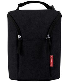 Skip Hop Grab-and-Go Insulated Double Bottle Bag - Black