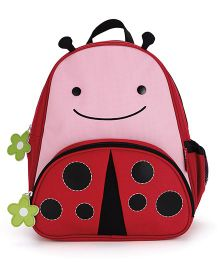 Skip Hop Backpack Livie Ladybug Design Pink & Red - 12 inches