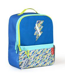 Skiphop Forget-Me-Not 3 Piece Backpack Set Lightning Print - 35 cm