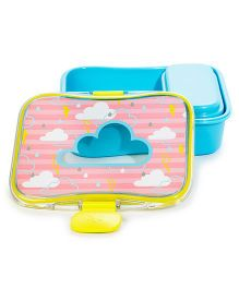 Skip Hop Kid Mealtime Lunch Kit Feeding Set Cloud Design - Blue Pink