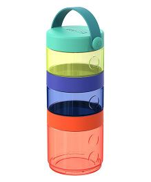 Skip Hop Baby Grab And Go 7-Piece Formula-to-Food Container Multi Color - 280 gm