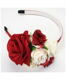 Asthetika Rose Hair Band - Red