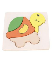 Alpaks Mini Raised Puzzles Tortoise - Multi Color