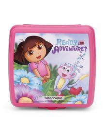 Tupperware Dora Sandwich Keeper - Pink