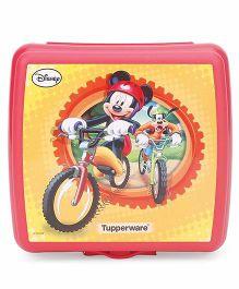 Tupperware Mickey Sandwich Keeper - Red