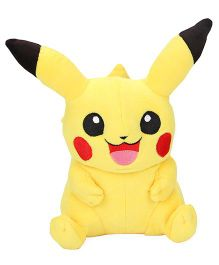 Pokemon Pikachu Soft Toy Yellow - Height 25.4 cm