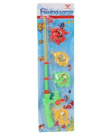 Playmate Fishing Game Set Pack of 4 - Multicolour