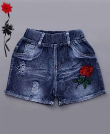 Party Princess Denim Shorts - Blue