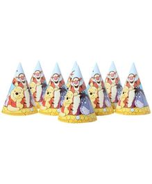 Winnie The Pooh - Party Hats Printed