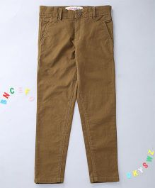 Holy Brats Cool Washed Trousers - Brown