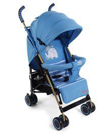 Lightweight Stroller With Mosquito Net - Blue