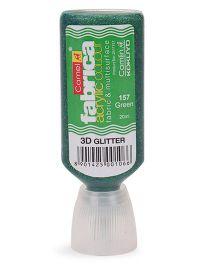 Kokuyo Camlin Fabrica Acrylic 3D Glitter Color - Green