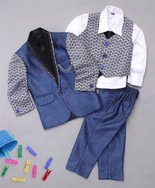 Adores 3 Piece Suit Set For Boys - Blue