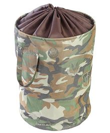 My Gift Booth Camo Print Storage Bag - Green