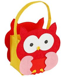 My First Booth Candy Bag Owl Design - Red