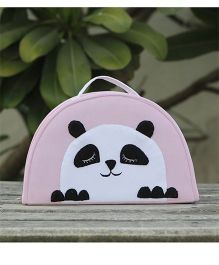 My Gift Booth Vanity Bag Cute Panda Design - Pink