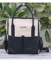 My Gift Booth Diaper Bag - Black Cream