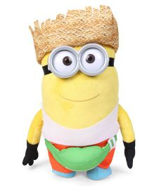 Minions Freedonian Dave Soft Toy Yellow - Height 37 cm
