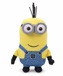 Minions Kevin Plush Toy Blue Yellow - Height 13 cm