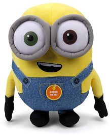 Minions Bob Plush Toy With Sound Blue Yellow - Height 40 cm