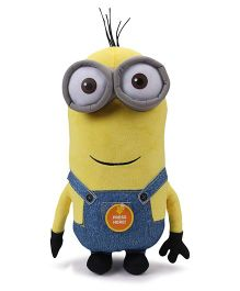 Minions Kevin Plush Toy With Sound Blue Yellow - Height 30 cm