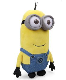 Minions Kevin Plush Toy With Sound Blue Yellow - Height 40 cm