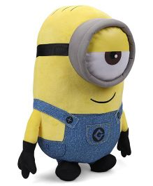 Minions Stuart Plush Toy With Sound Blue Yellow - Height 40 cm