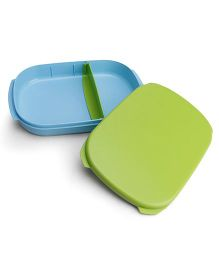 Tupperware Compact Lunch Box - Blue Green