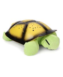 Playmate Turtle With Night Sky Constellations - Yellow & Green