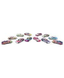 Racing Car Toy Set Multicolor - Pack Of 12