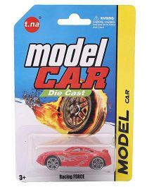 Playmate Die Cast Racing Force Car - Red